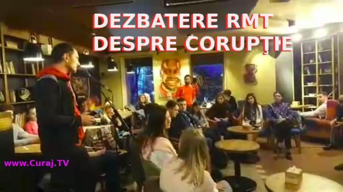 Dezbateri pentru tineri despre corupţie #RMT la #Tucano