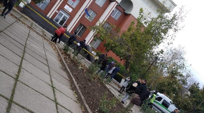Alertă // Alarmă cu bombă la Judecătoria Botanica