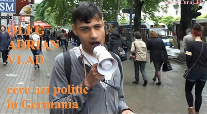 Oleg Adrian Vlad a ajuns la Berlin, cere azil politic în Germania