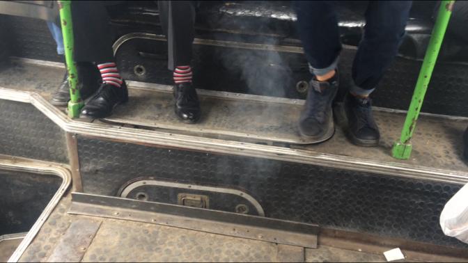 Suntem otrăviți cu gaze în transportul public din Chișinău