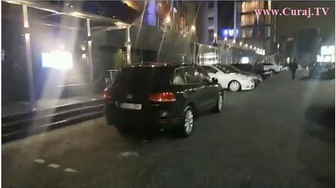 Mașini scumpe și de lux la partidul lui Plaha