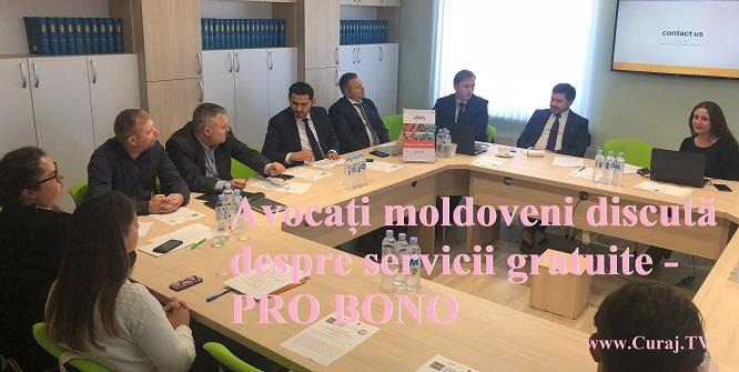 Avocații din Moldova au discutat despre servicii gratuite – Pro bono