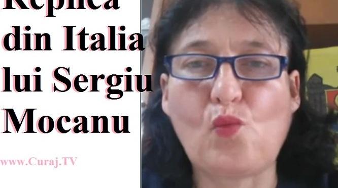 Replică din Italia lui Sergiu Mocanu