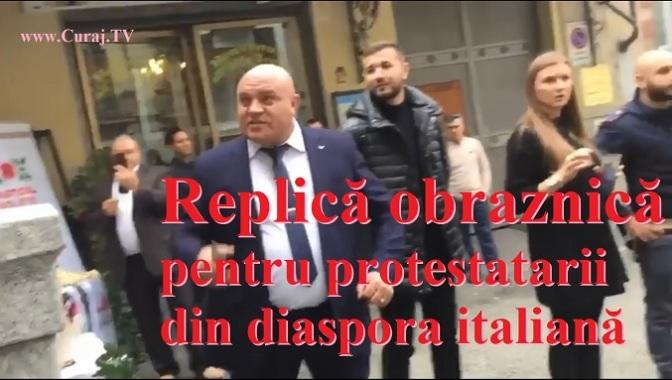 Replică obraznică de la suita lui Șor la Torino