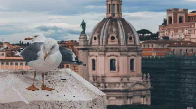 Prima mea plimbare cu bicicleta prin Roma