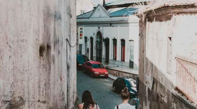 Un oraș portughez ca Strășenii, arată altfel