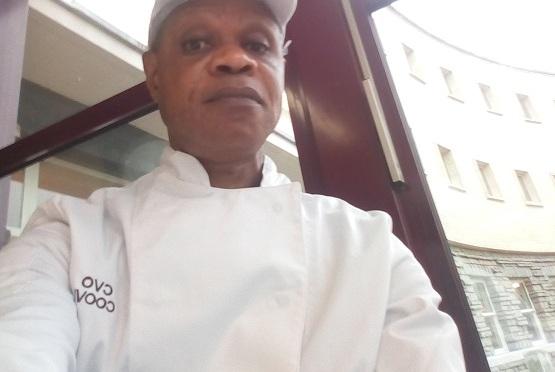 John Onoje se face bucătar în Belgia