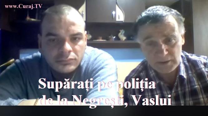 I-a supărat poliția din Negrești, Vaslui