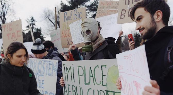Protest pentru climă și viitor