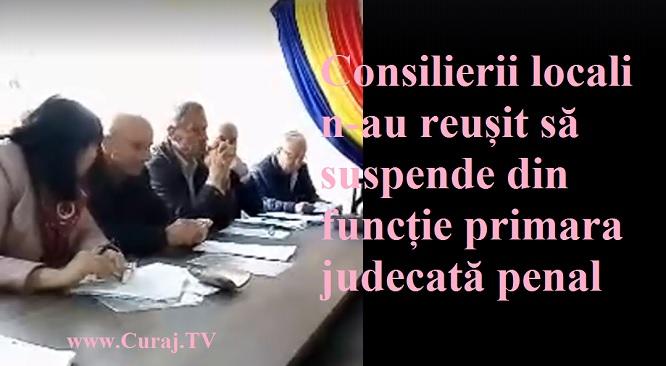Consiliul local Biliceni vrea să suspende primara