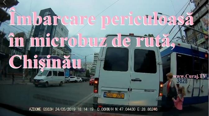 Îmbarcare în microbuz în condiții ilegale