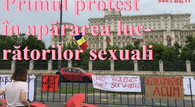 Primul protest în apărarea lucrătorilor sexuali