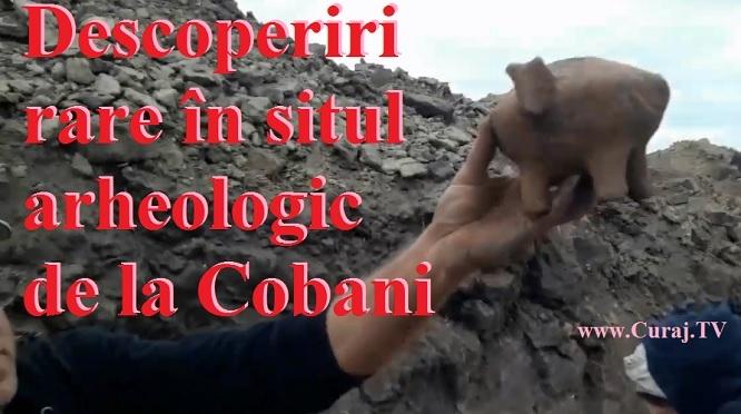 Descoperiri rare în situl  arheologic  de la Cobani
