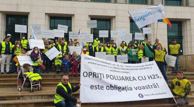 Marș pentru oxigen la București