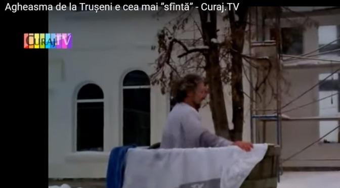 """Agheasma de la Trușeni e cea mai """"sfîntă"""""""