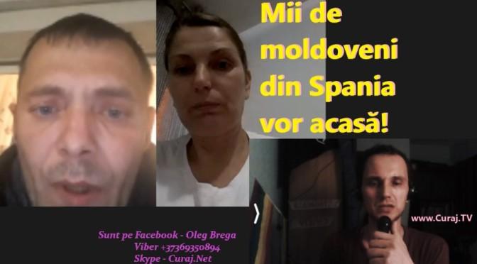 Au rămași prinși în Spania, vor să ajungă acasă