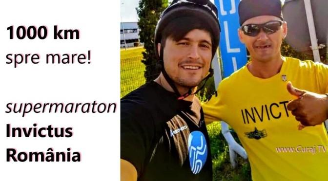 Supermaraton prin România, 1000 km spre mare