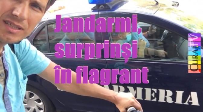 Jandarmii și-au pus centurile după ce i-am filmat